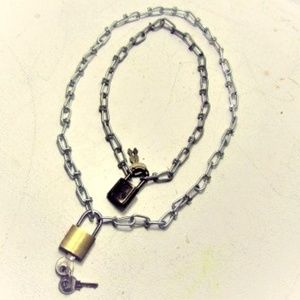 MTO Sub Lock and Chain Necklace